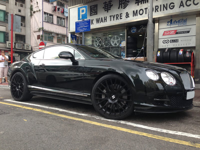 Bentley Continental GT, Modulare Wheels B24